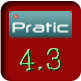 Identificação versão 4.3 do sistema PRATIC